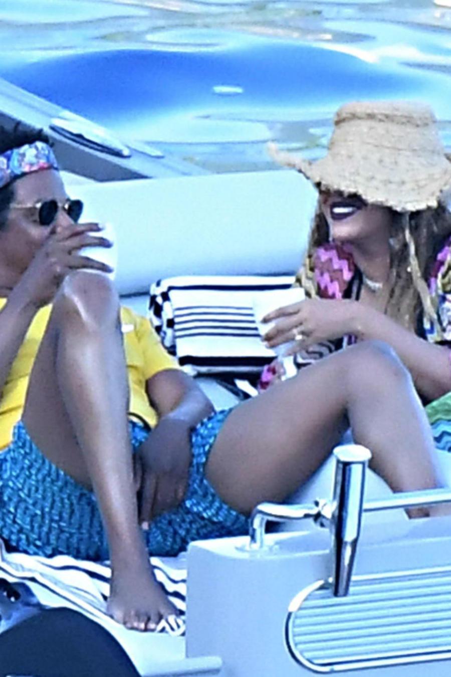 Jay-Z con Beyoncé