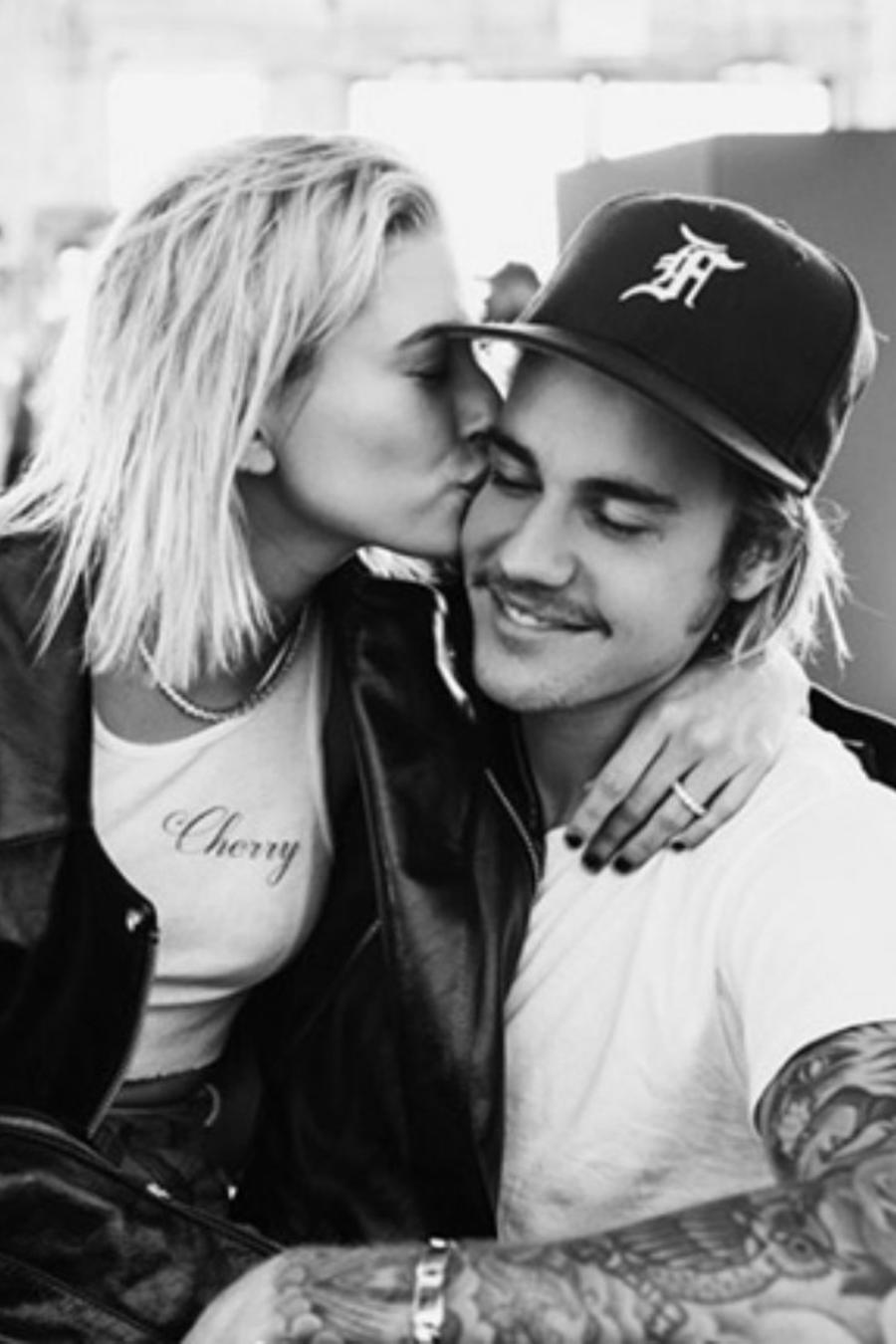 Justin Bieber y Hailey Baldwin perfil