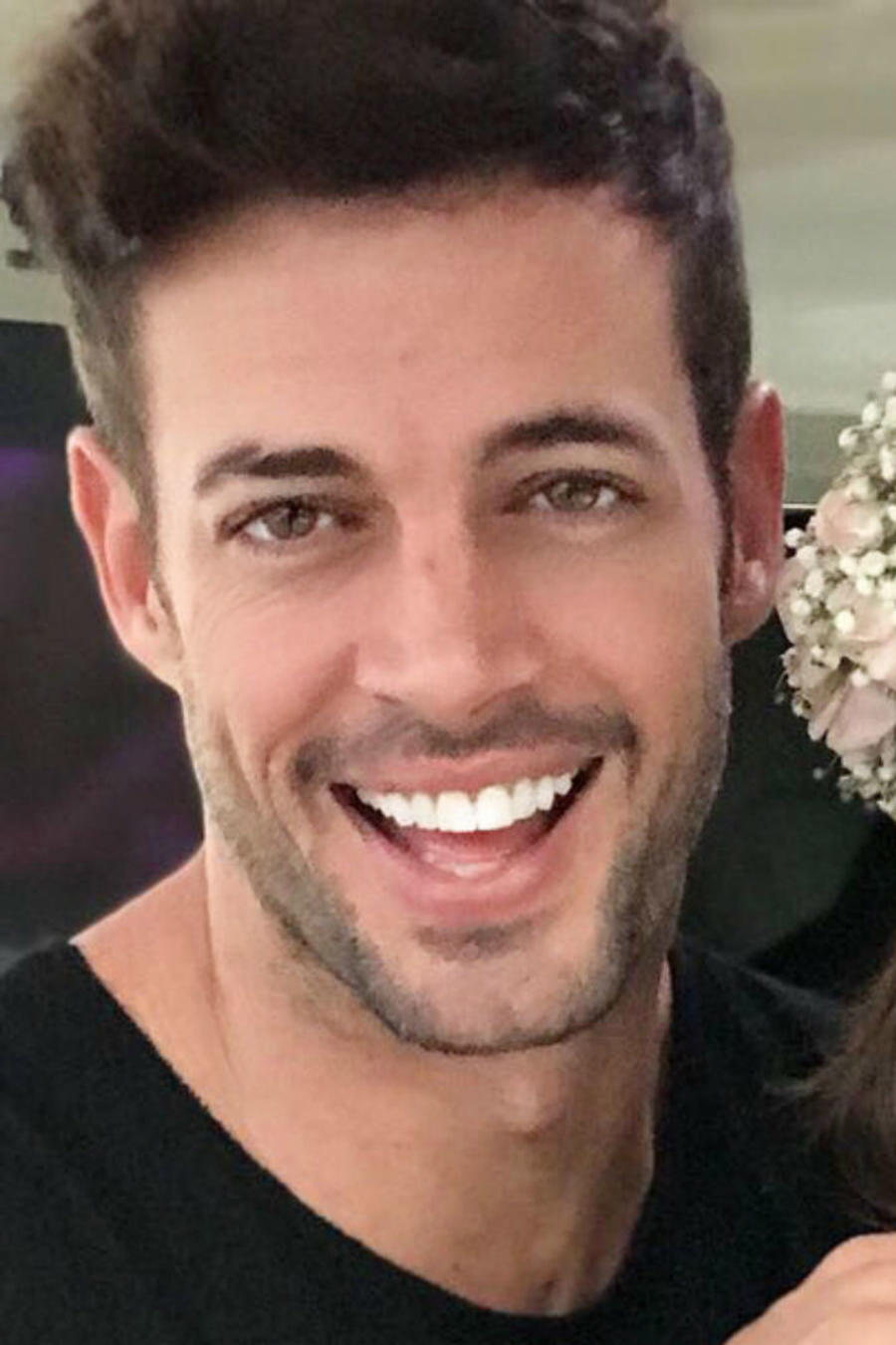 William Levy y su esposa