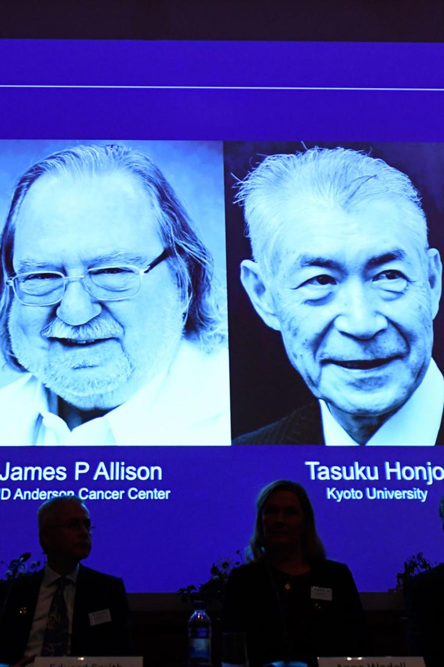 Anuncio del Premio Nobel de Salud 2018