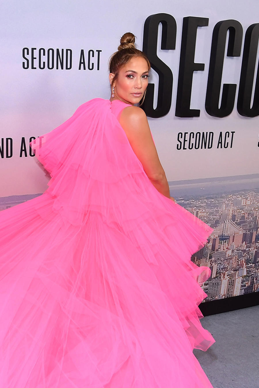 "Jennifer Lopez  at the ""Second Act"" World Premiere"