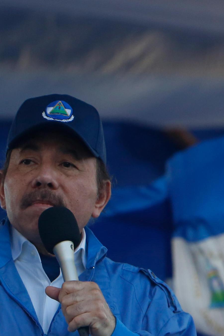 El presidente de Nicaragua, Daniel Ortega, en una imagen de archivo