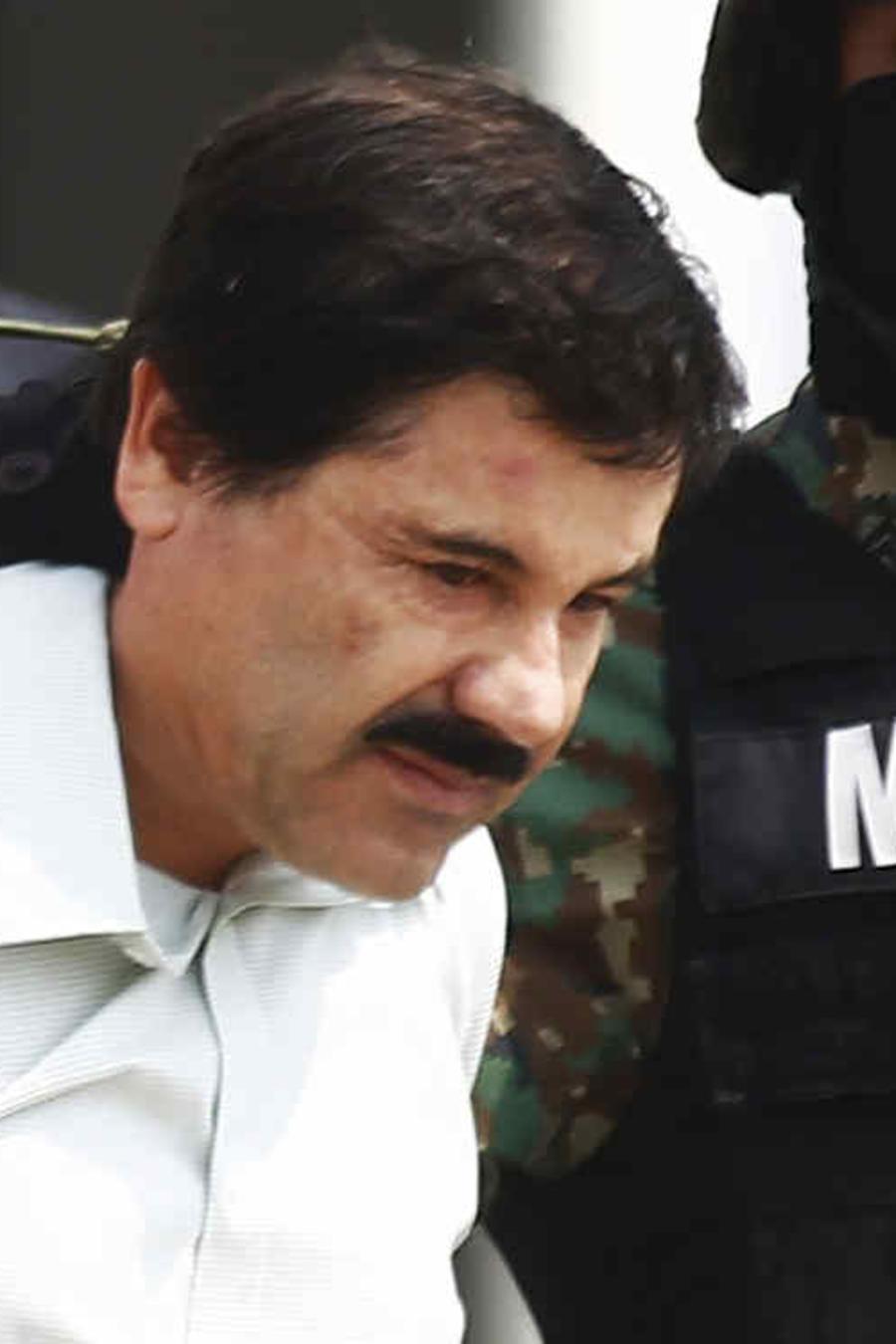 """Joaquín """"El Chapo"""" Guzmán en una imagen de archivo."""