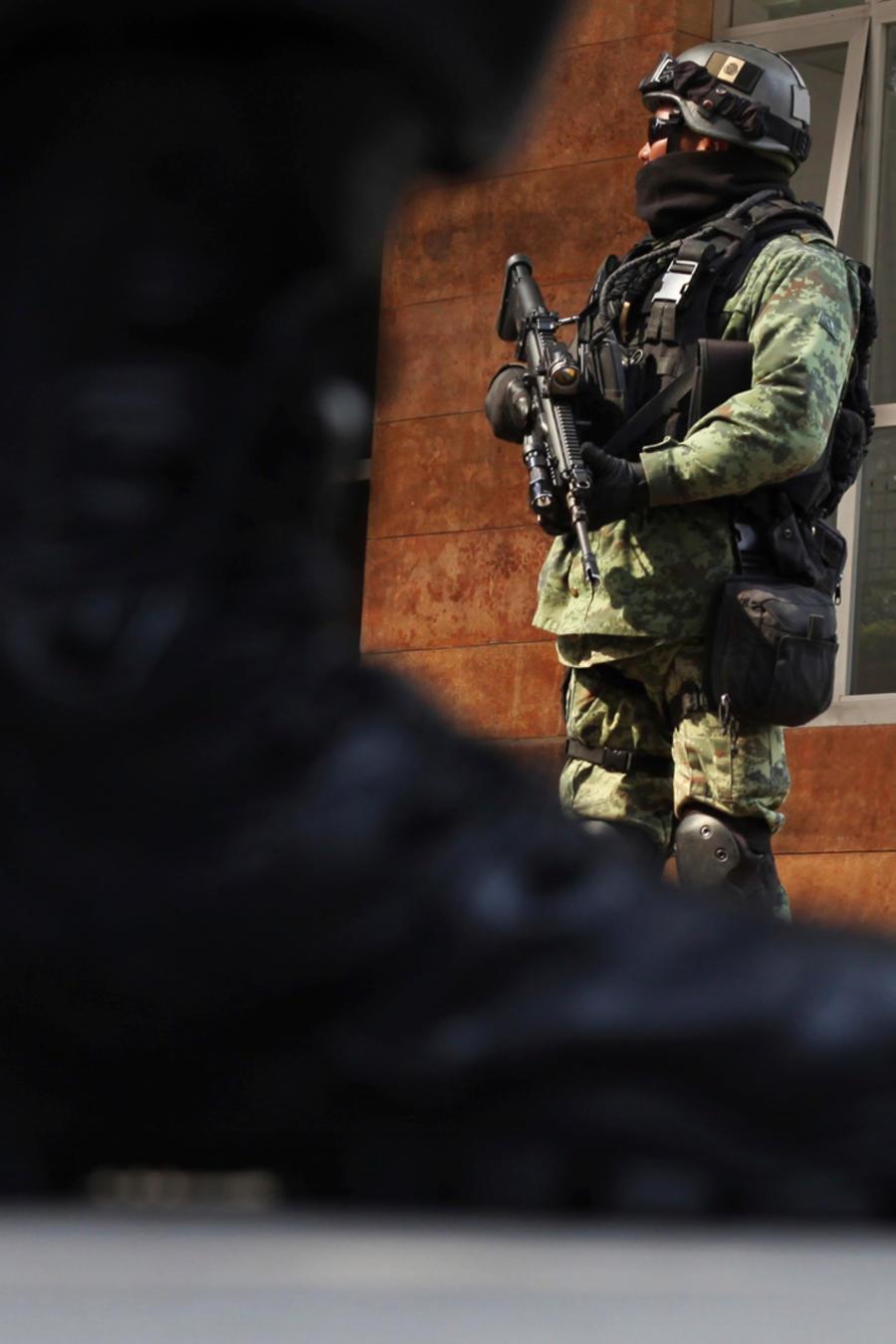 Miembros del Ejército mexicano en una imagen de archivo