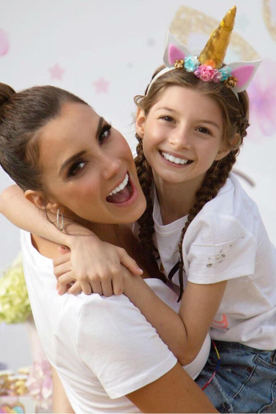 Elizabeth Gutiérrez con su hija Kailey