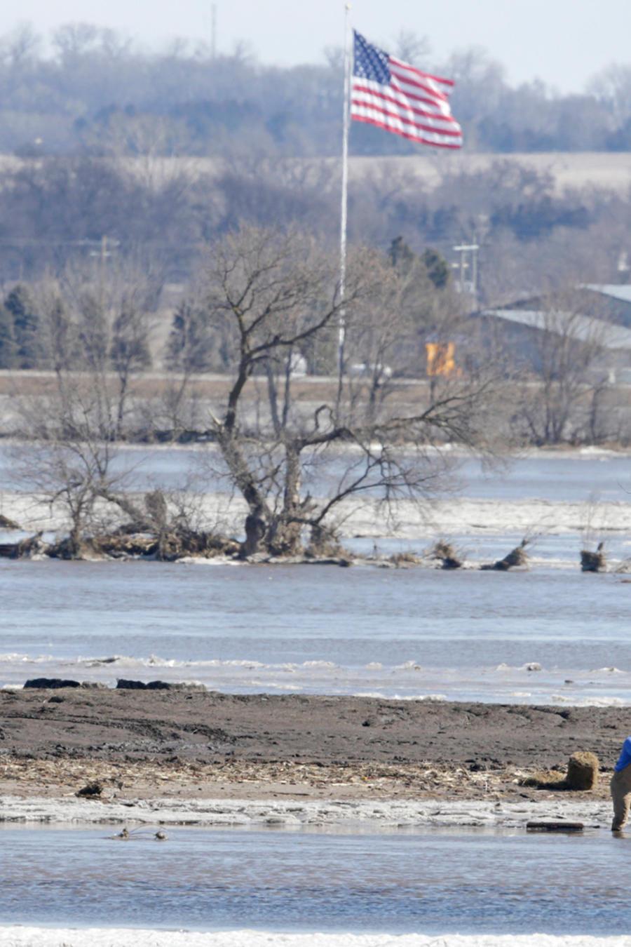 Inundaciones históricas en Nebraska