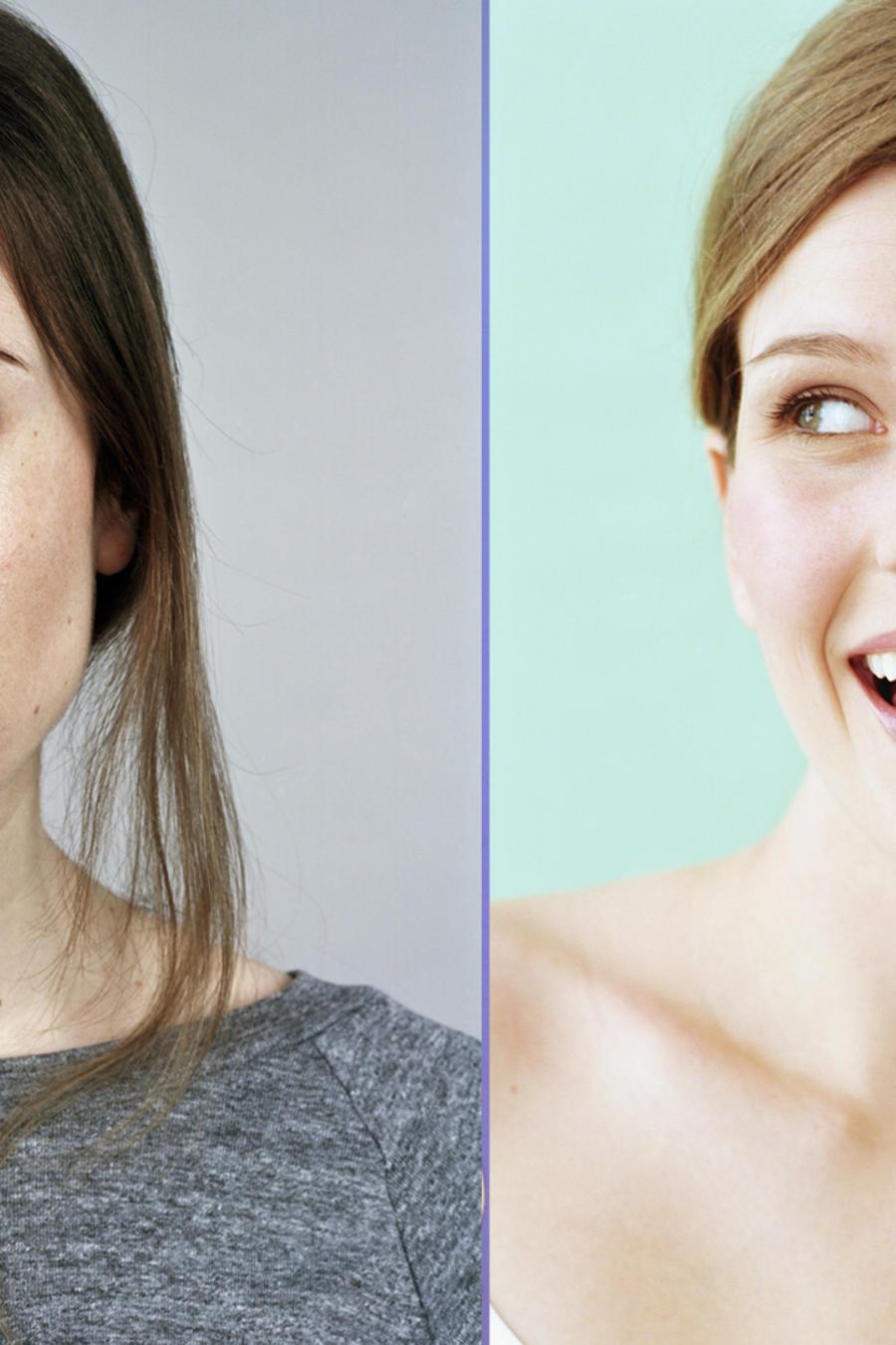 Mujeres combatiendo las ojeras