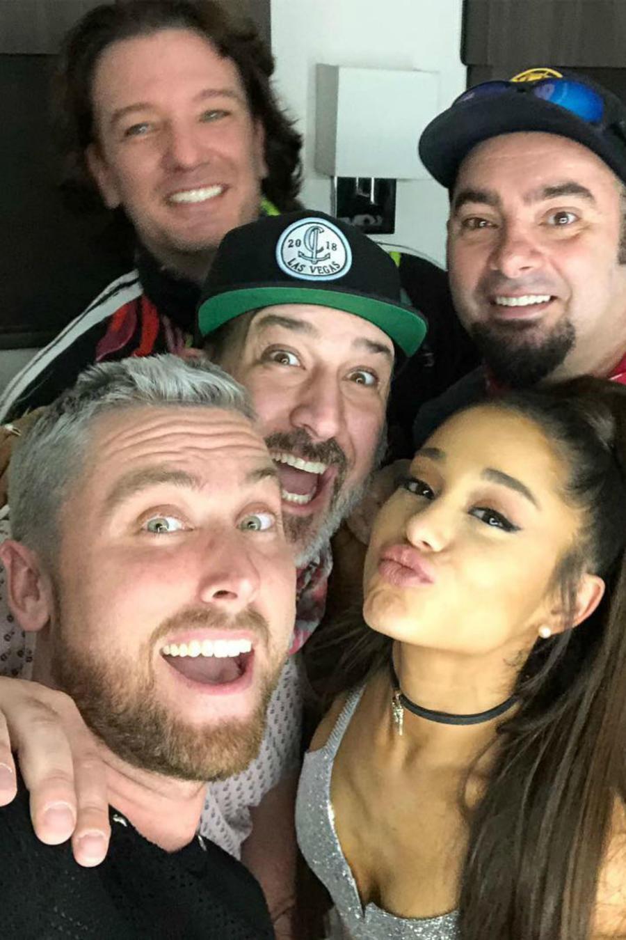 *NSYNC con Ariana Grande en Coachella 2019