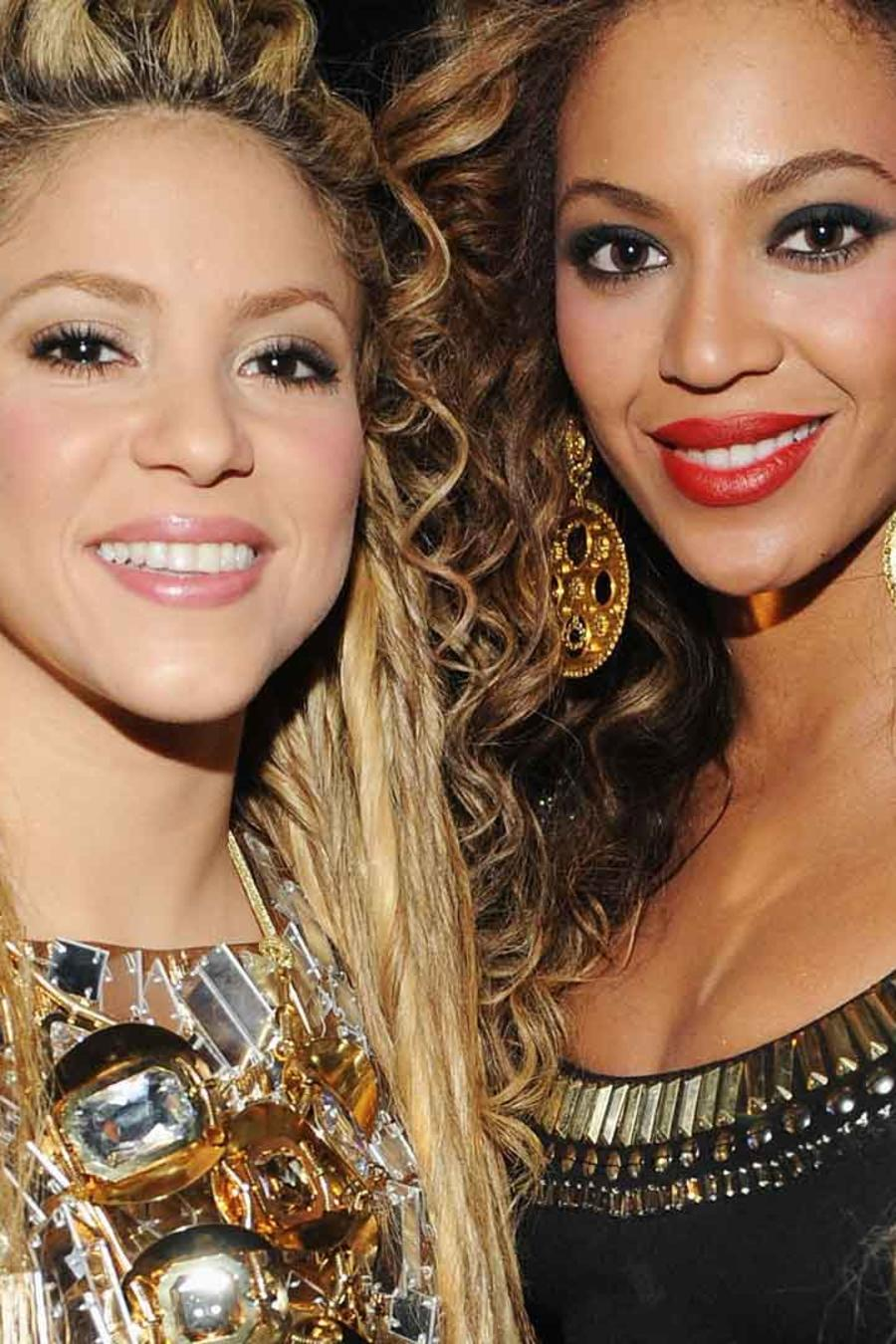 Shakira y Beyoncé en los MTV Europe Music Awards