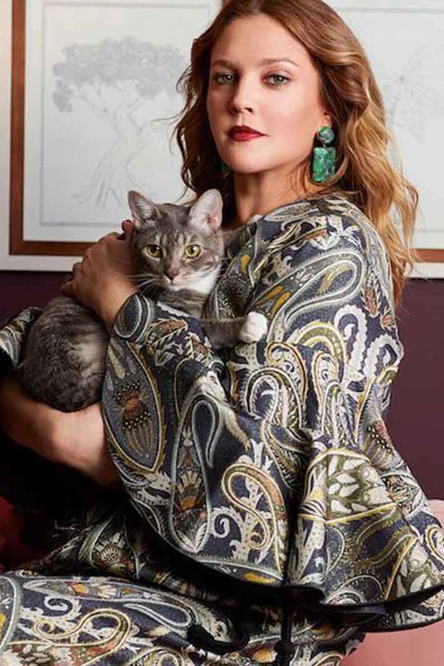 Drew Barrymore lanza colección de decoración