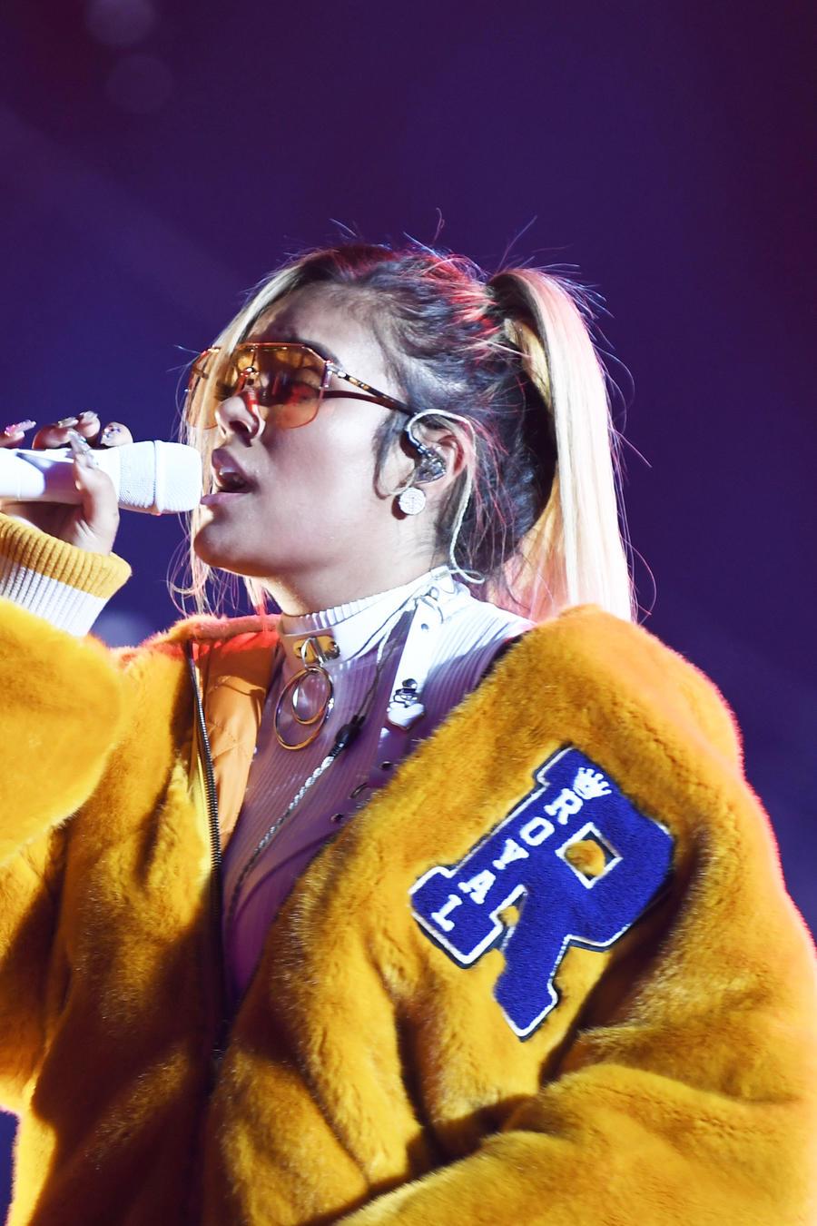 Karol G en los ensayos de Premios Billboard 2019