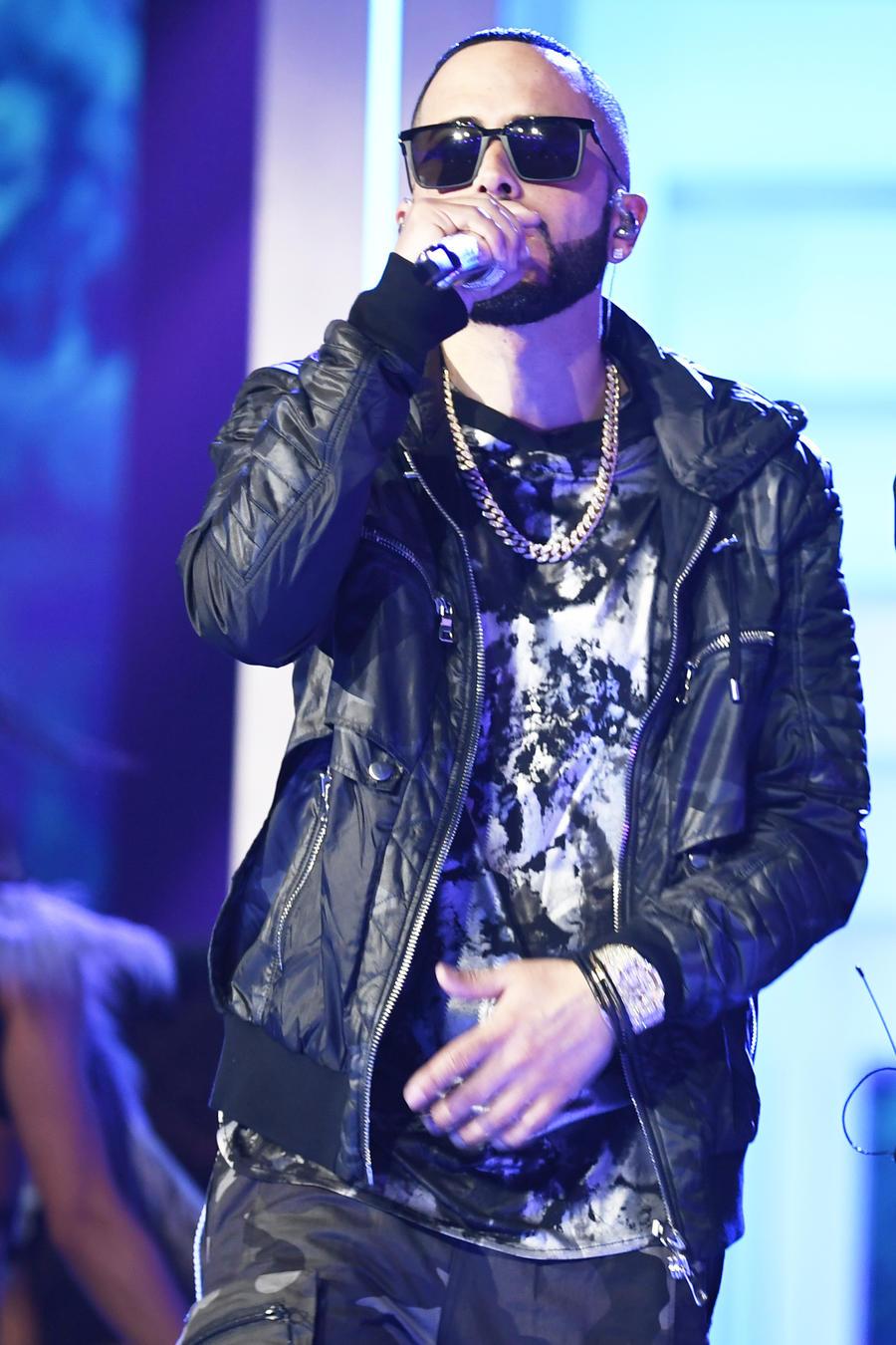 Wisin y Yandel en los ensayos de Premios Billboard 2019