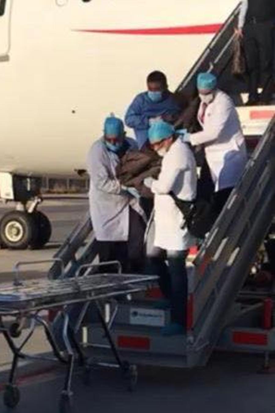 La víctima viajaba desde Bogotá y había hecho un transbordo en Ciudad de México con destino a Japón.