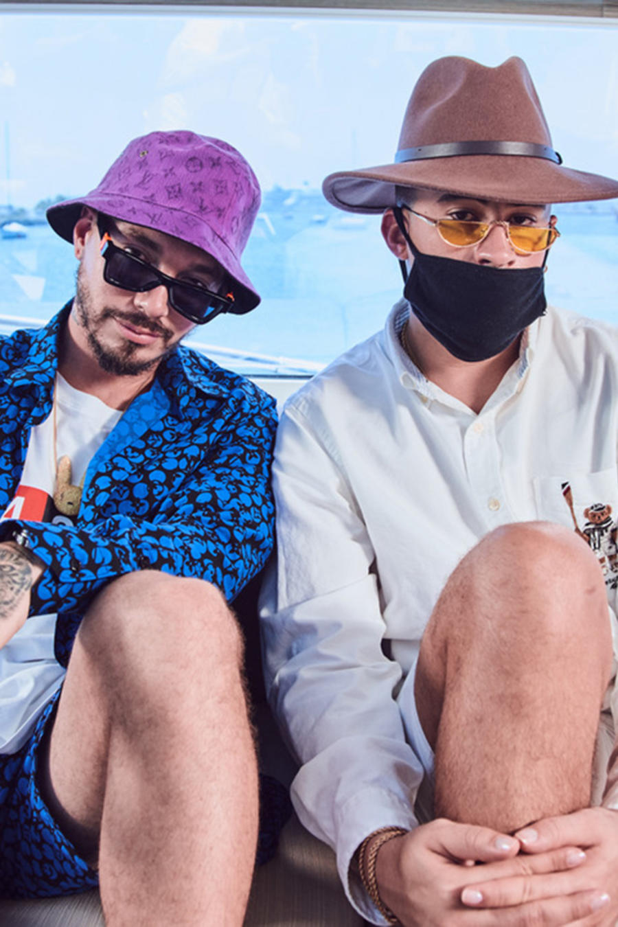 """J Balvin and Bad Bunny Surprise Fans with their first collaborative album """"Oasis"""""""