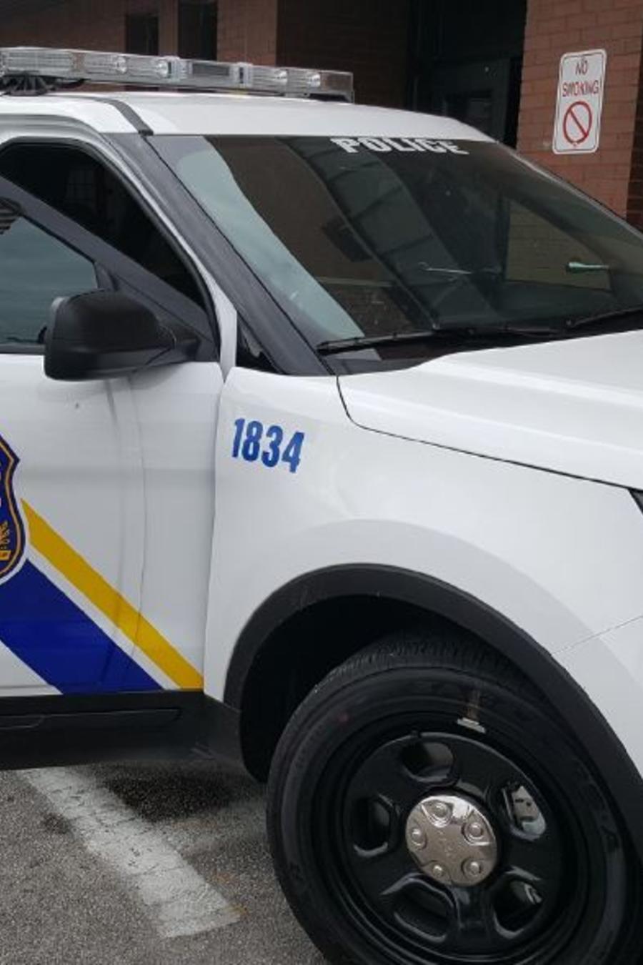 Un auto de la policía de Filadelfia.