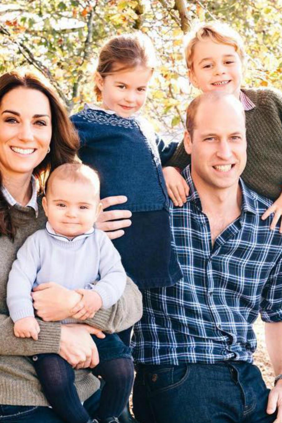 Duques de Cambridge y familia
