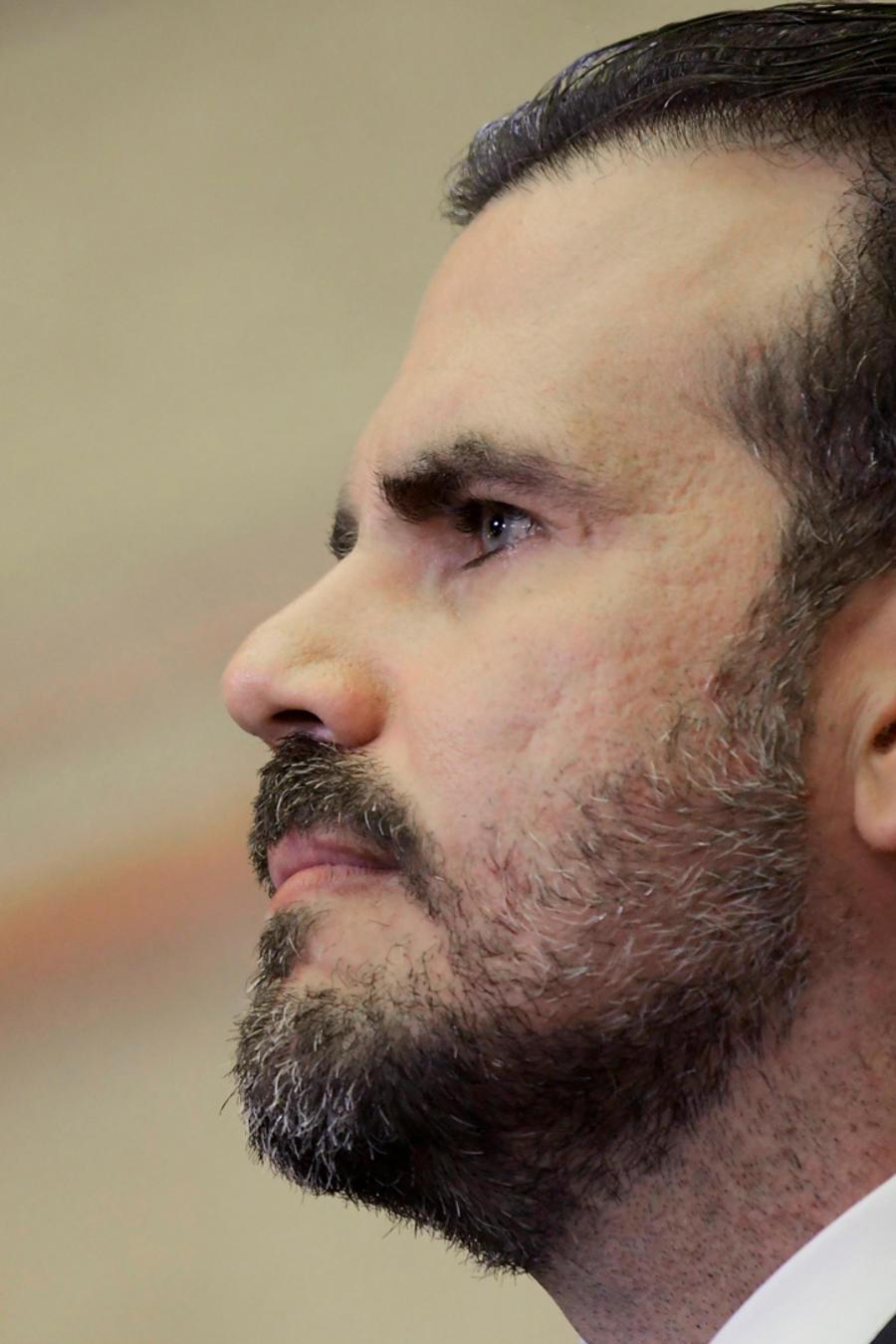 El gobernador de Puerto Rico, Ricardo Rosselló, en una imagen de archivo
