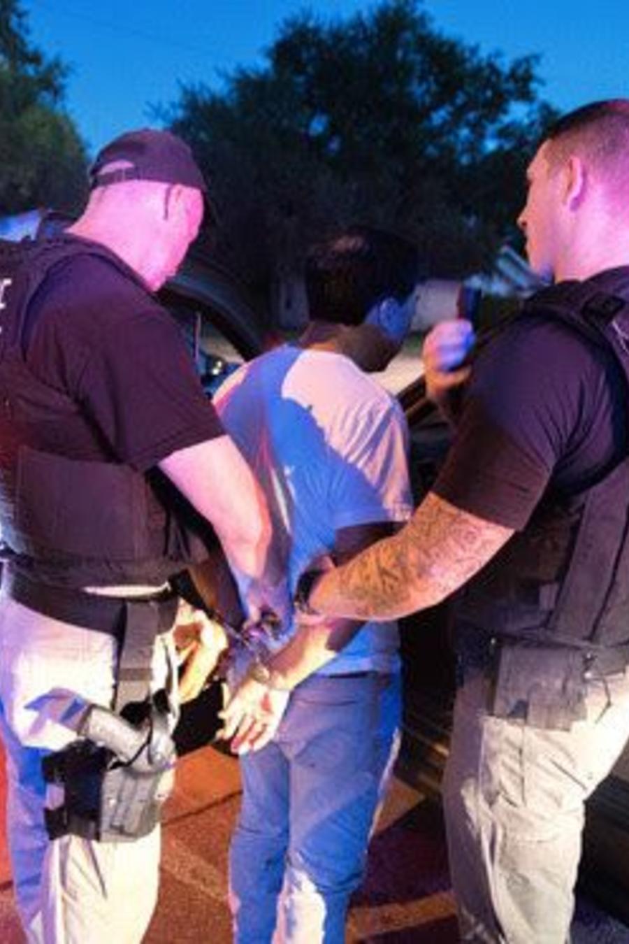 Arresto de inmigración