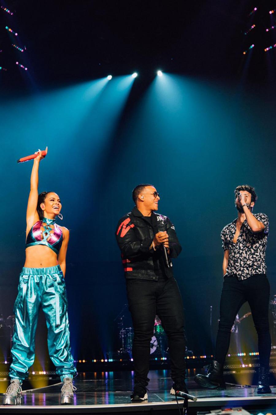Sebastian Yatra, Natti Natasha & Daddy Yankee Join the Jonas Brothers on Stage in Miami