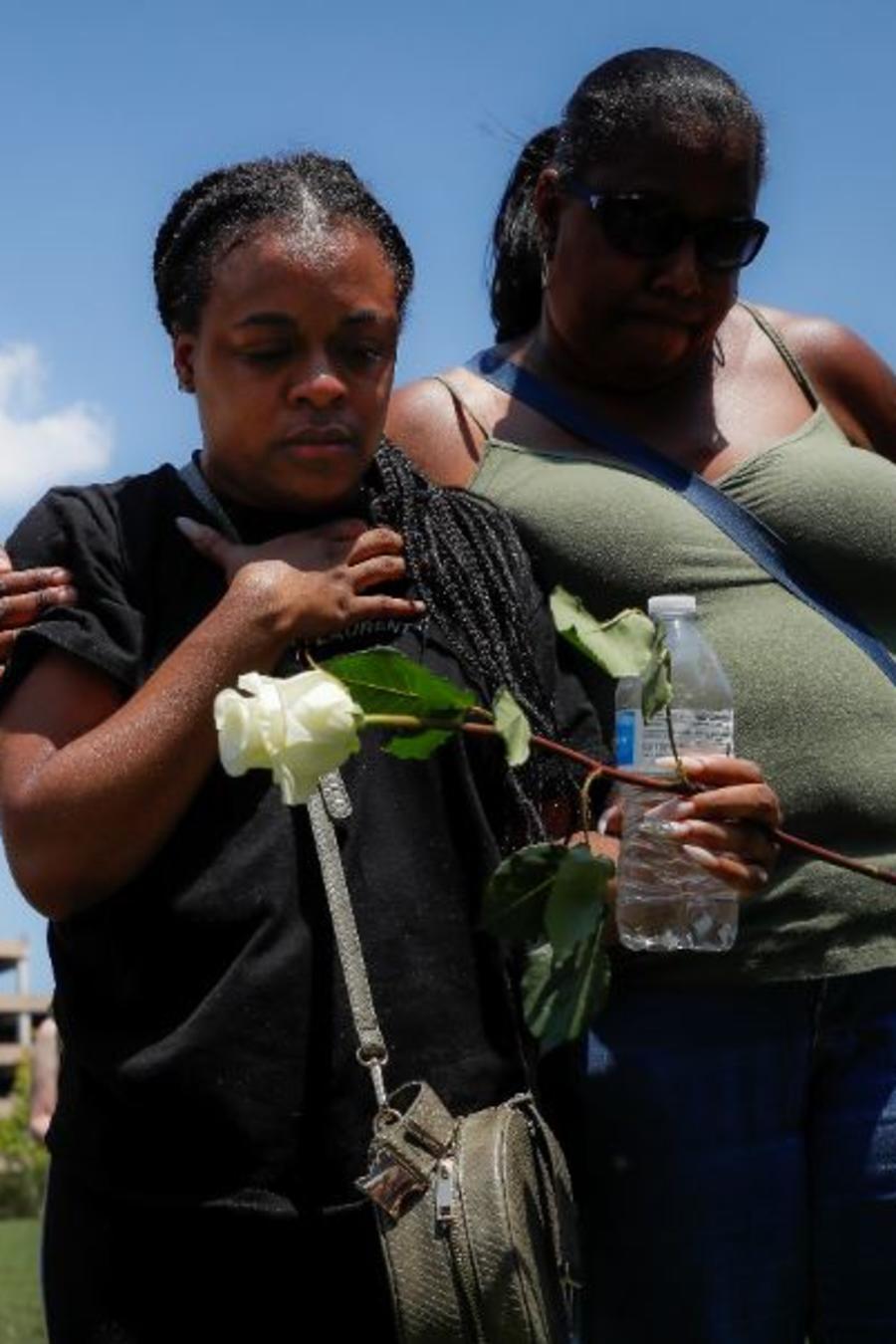 Vigilia tras el tiroteo masivo en Dayton, Ohio.