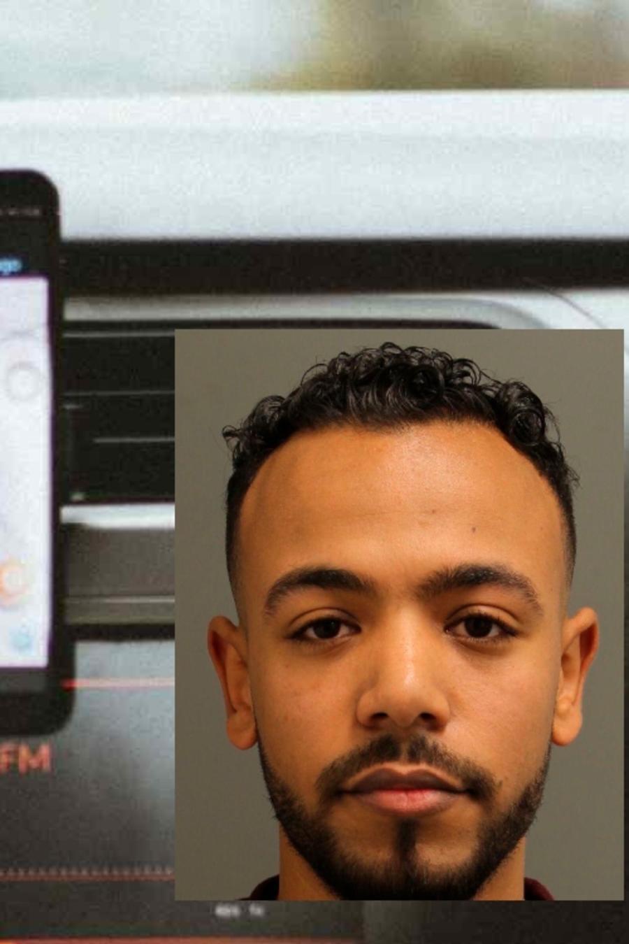 Ahmed Elgaafary, declarado culpable de violar a una mujer ebria que recogió en un casino cerca de Filadelfia.