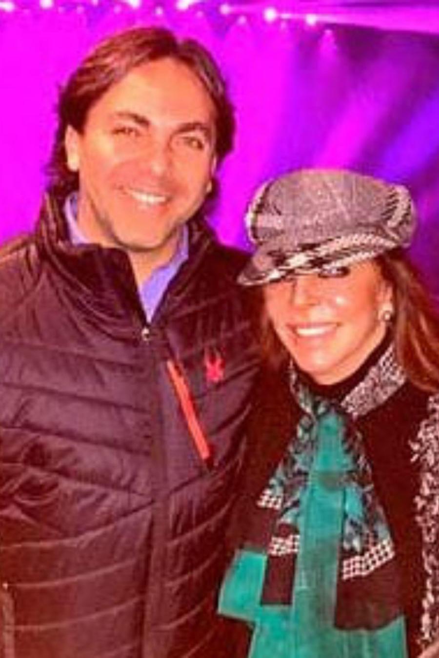 Cristian Castro y su mamá