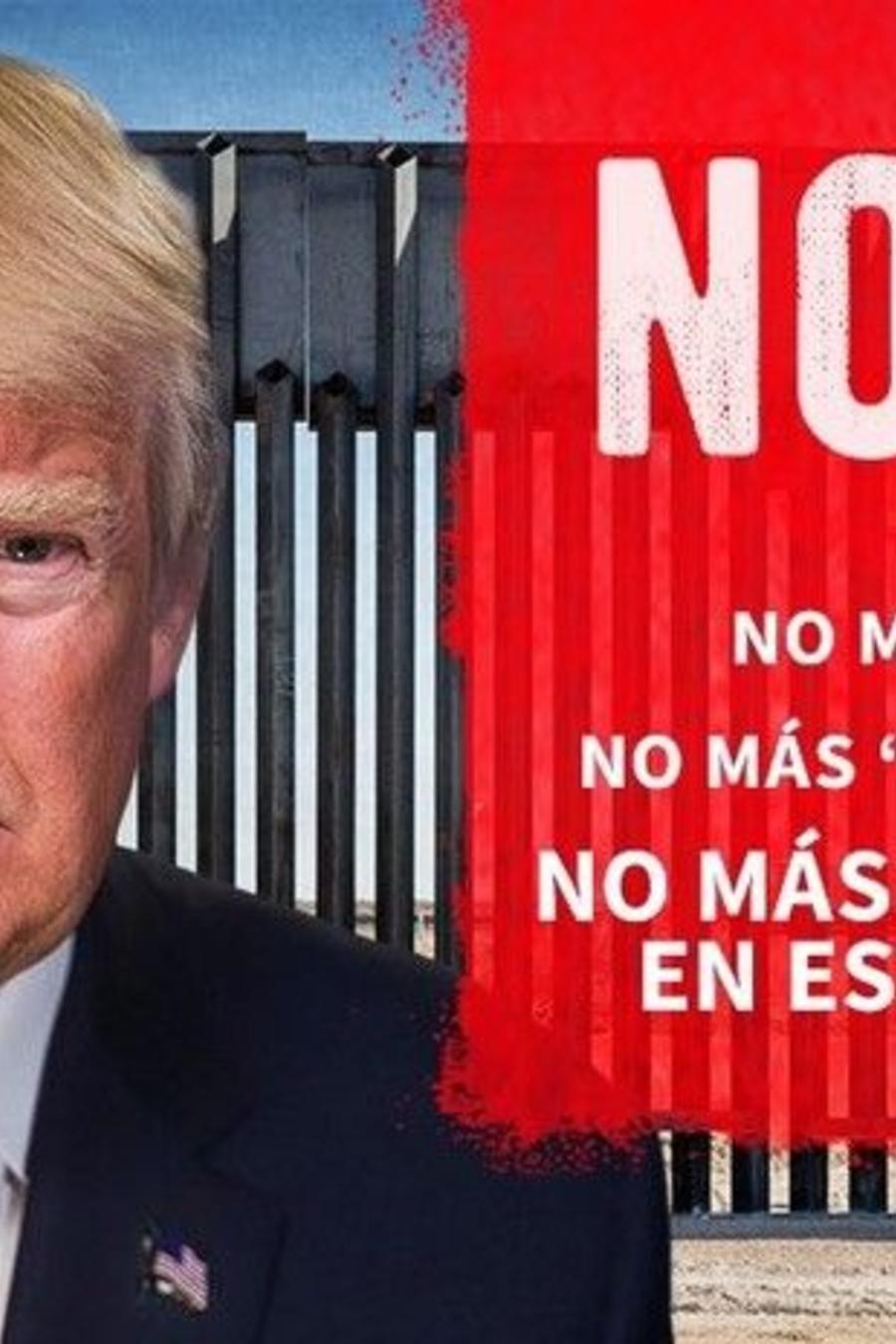 Trump publica mensaje en español