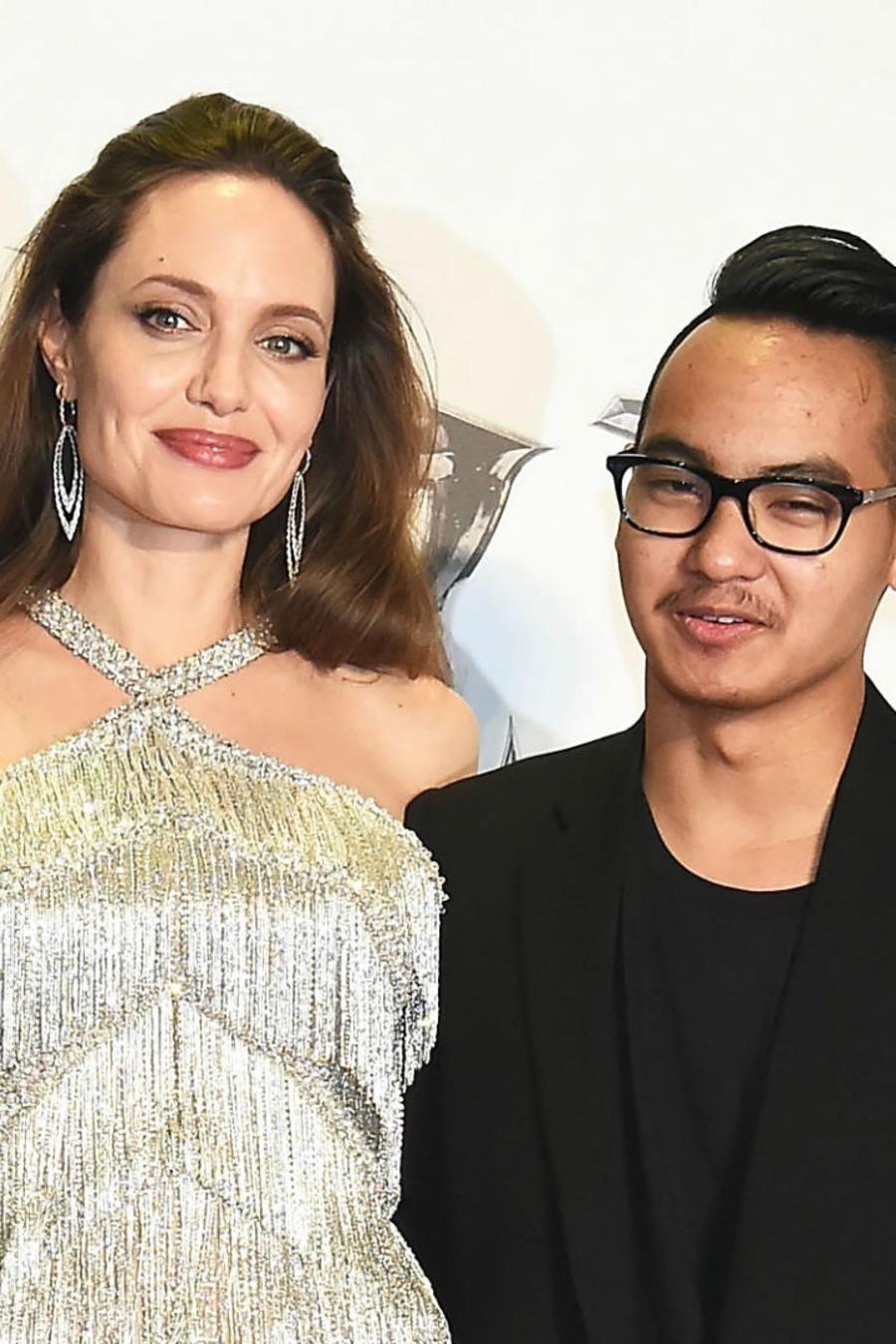 """Zahara Jolie-Pitt, Angelina Jolie y Maddox Jolie-Pitt en el estreno de """"Maleficent: Mistress of Evil"""" en Japón"""
