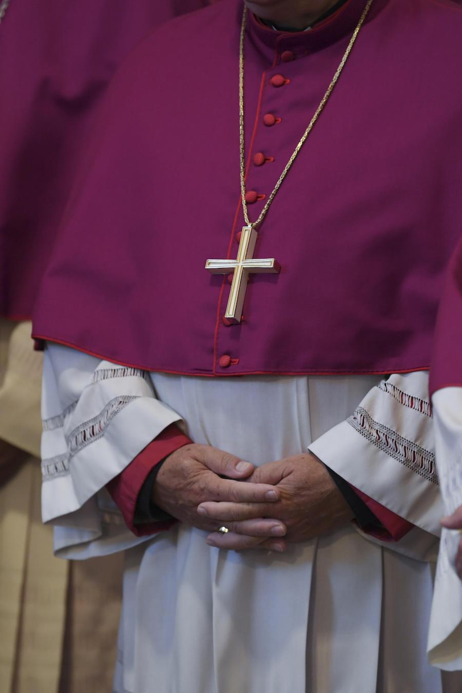 Imagen de archivo de miembros del clero de la Iglesia Católica.