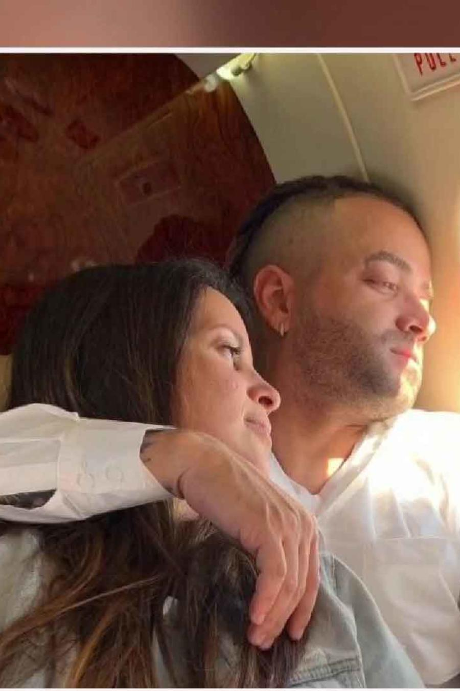 Nacho y esposa