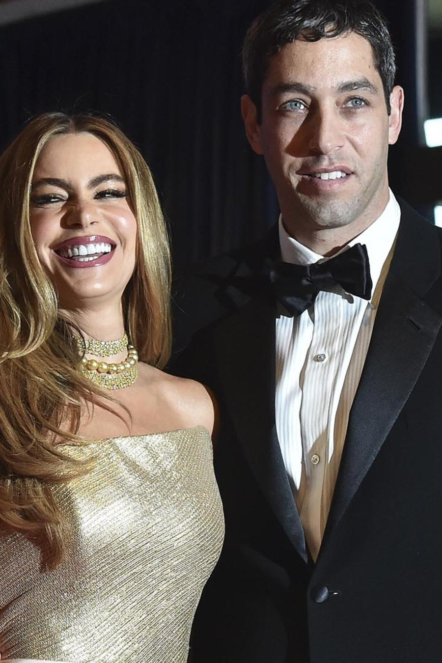 Sofía Vergara y Nick Loeb llegan a la Asociación de Corresponsales de la Casa Blanca