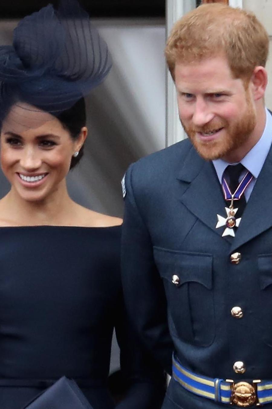 Elizabeth II Meghan Markle, Príncipe Harry en 2018