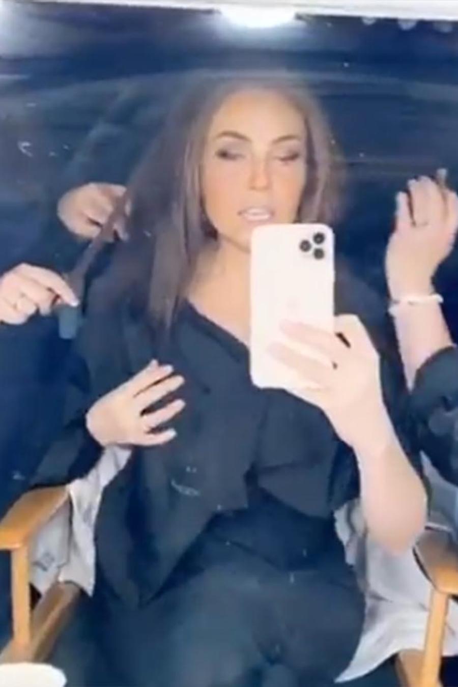 Thalía en cambio de look