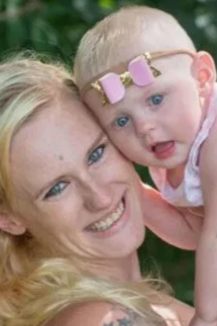 Anastacia Gencarelli y su bebé, Mia
