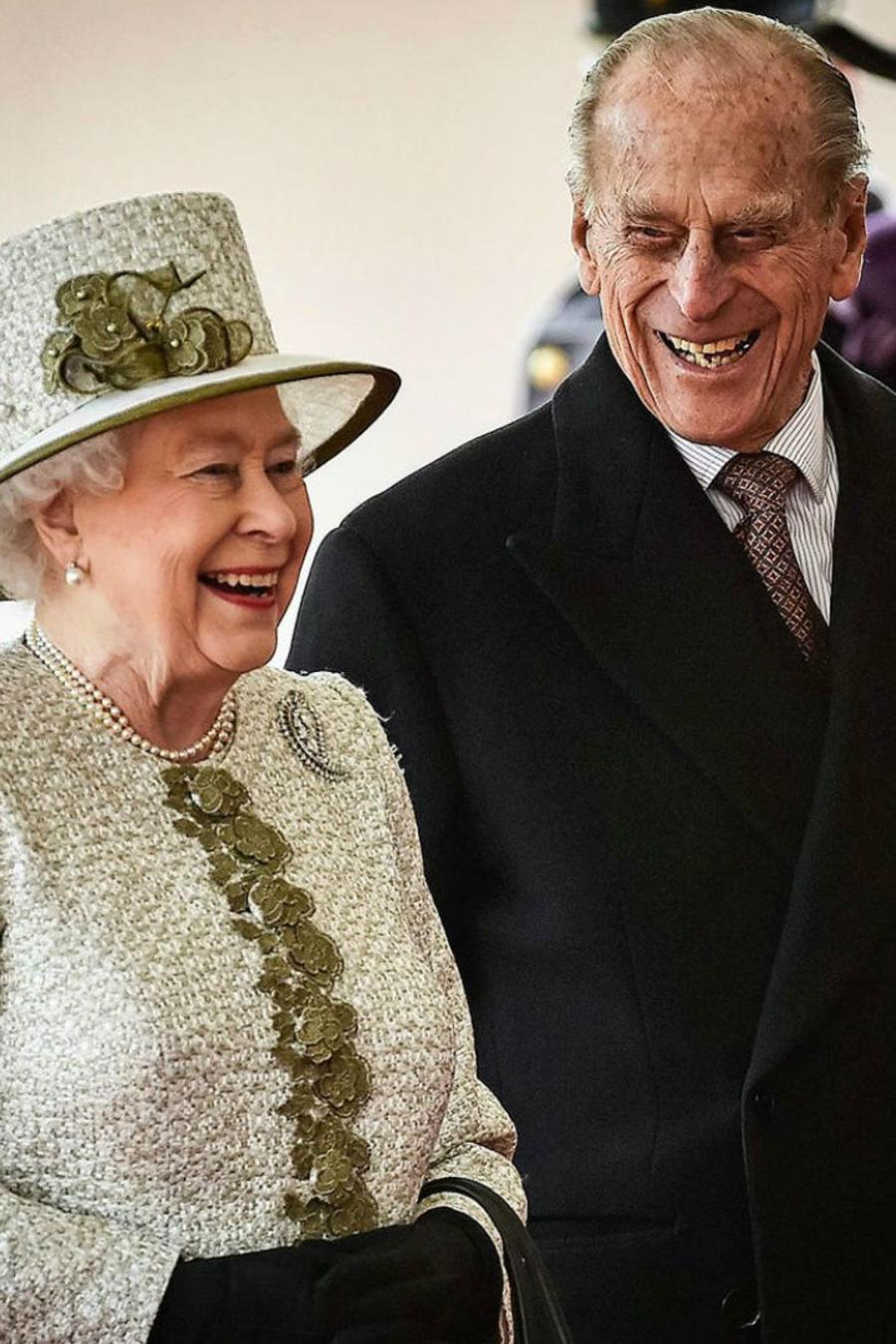 Reina Elizabeth II y Duque de Edimburgo