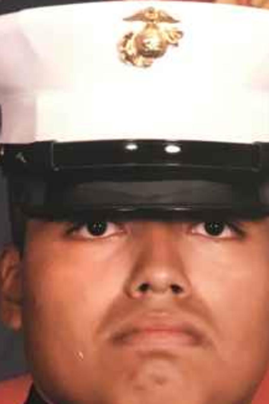 Jilmar Ramos Gómez, de 28 años, estuvo en los Marines.