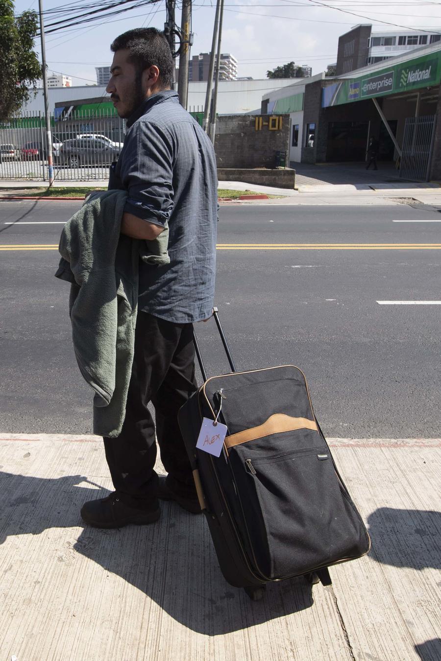 Un solicitante de asilo devuelto a Guatemala