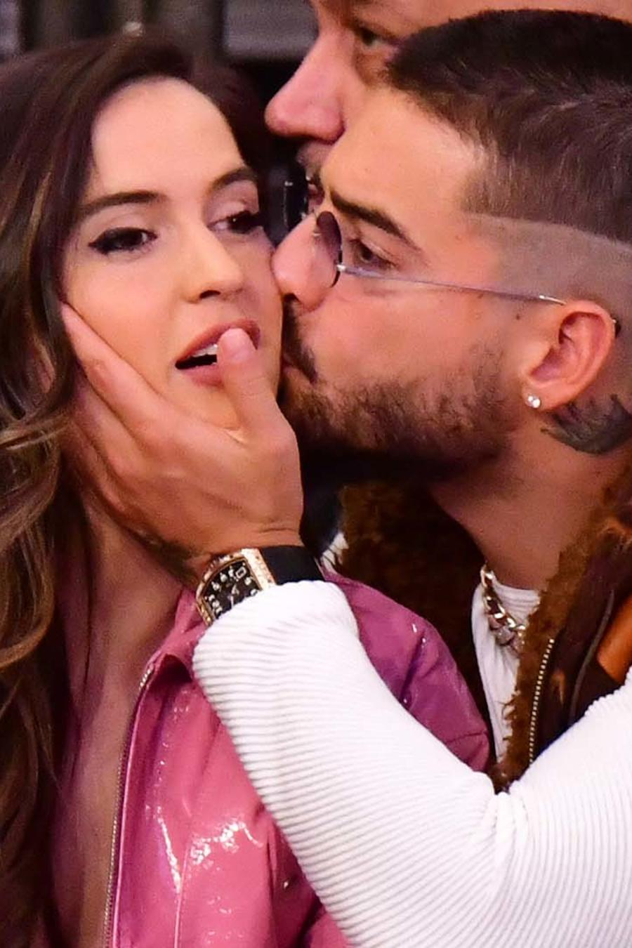Maluma con Natalia