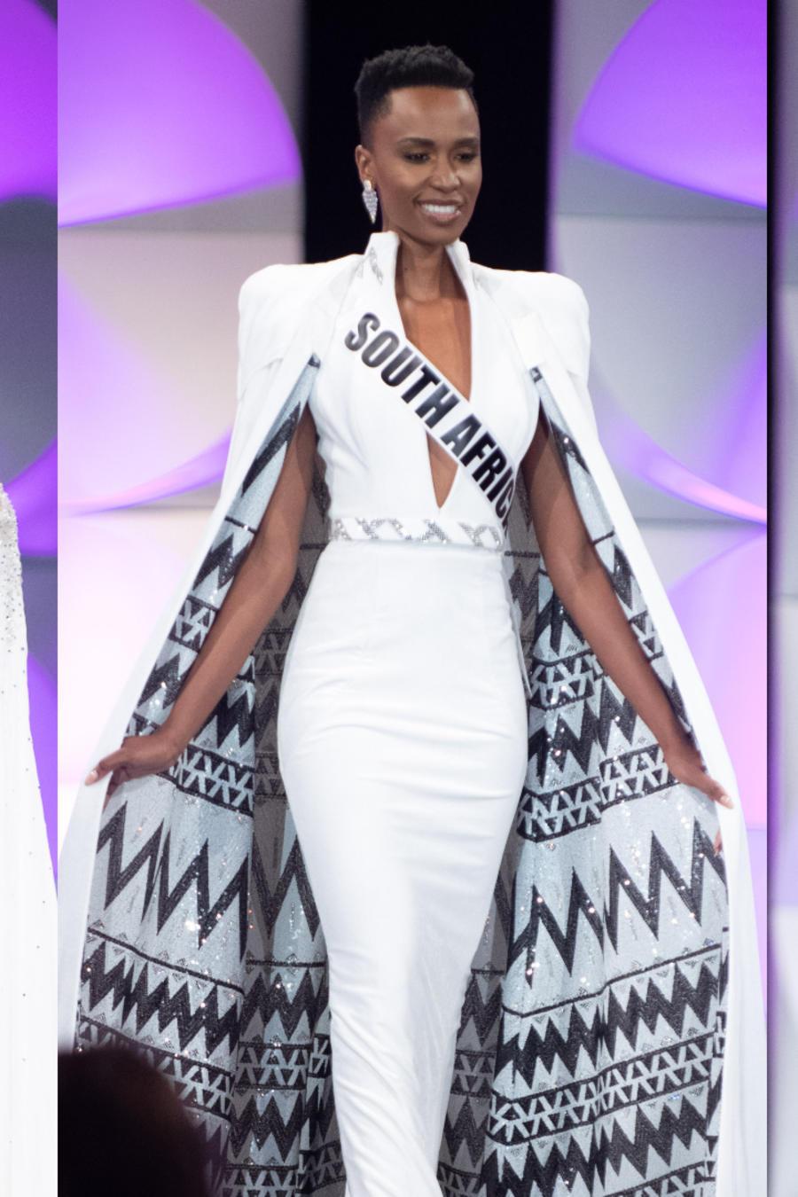Miss México, Miss Sudáfrica, Miss Colombia