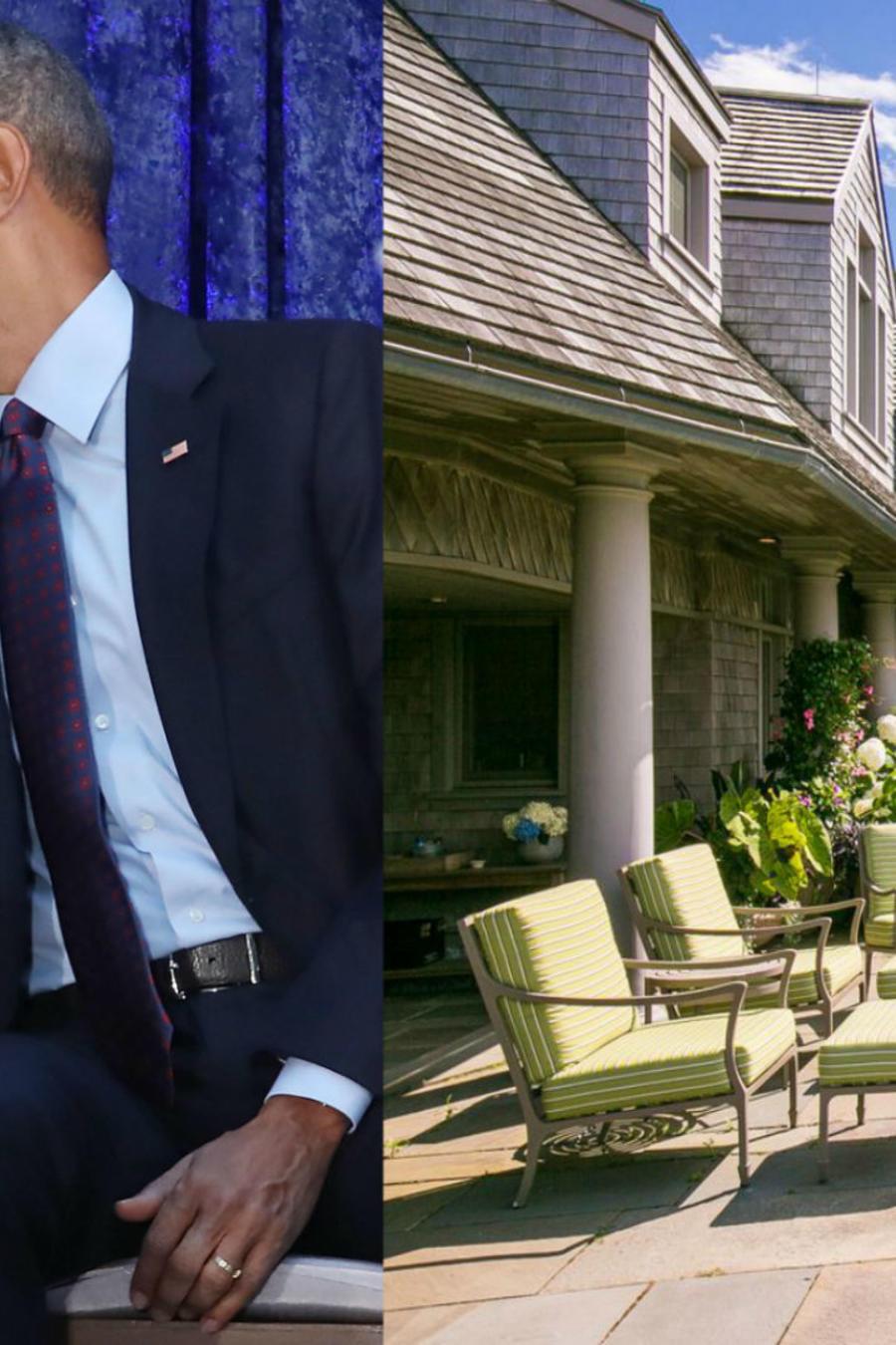 Michelle y Barack Obama compran casa en Vineyard