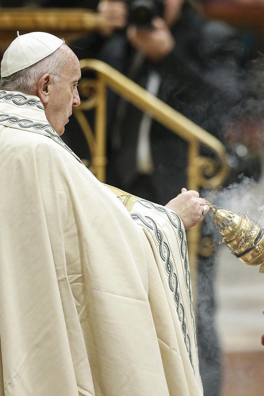 El papa Francisco, este miércoles en el Vaticano.