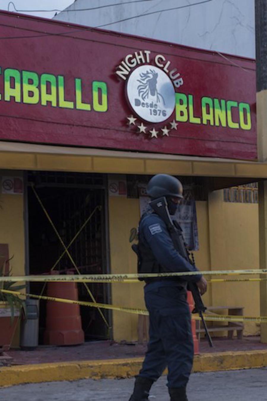 Bar Caballo Blanco en Coatzacoalcos, Veracruz