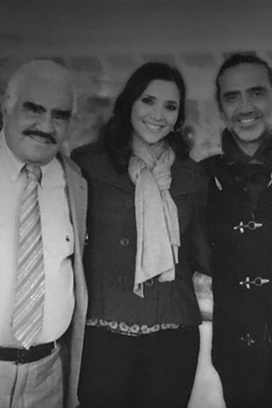 Los hijos de Vicente Fernández