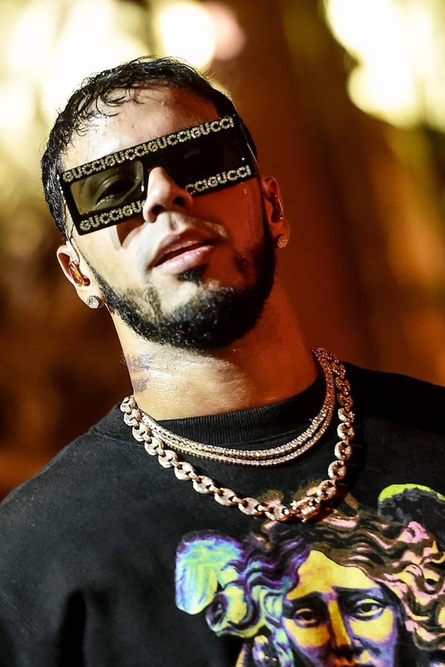 Anuel AA en el United Palace Theater