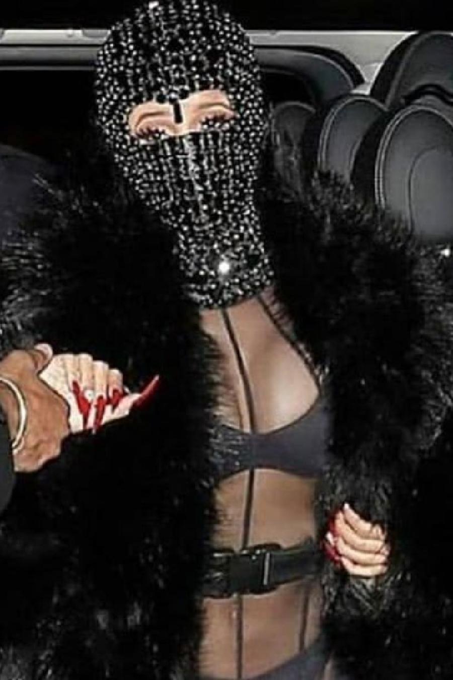 Cardi B en la Semana de la moda en París