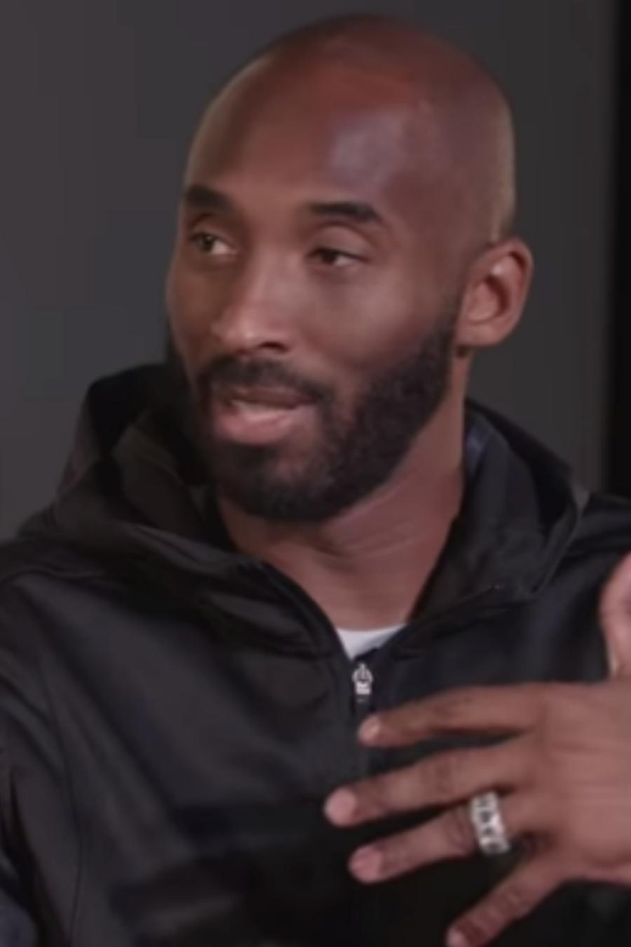 Kobe Bryant en entrevista con The Ringer en 2016