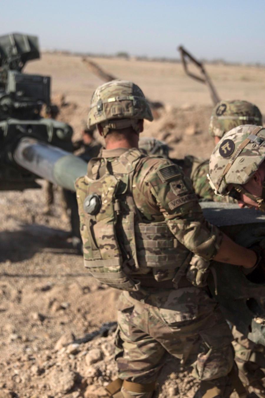 Soldados de Estados Unidos en Afganistán en una imagen de archivo.