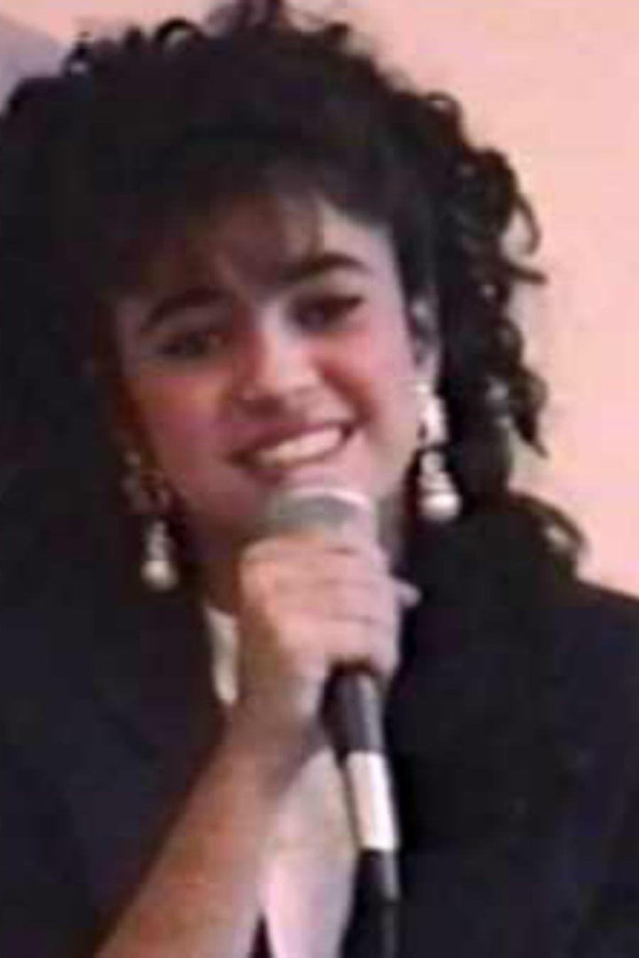 Shakira a los 13 años