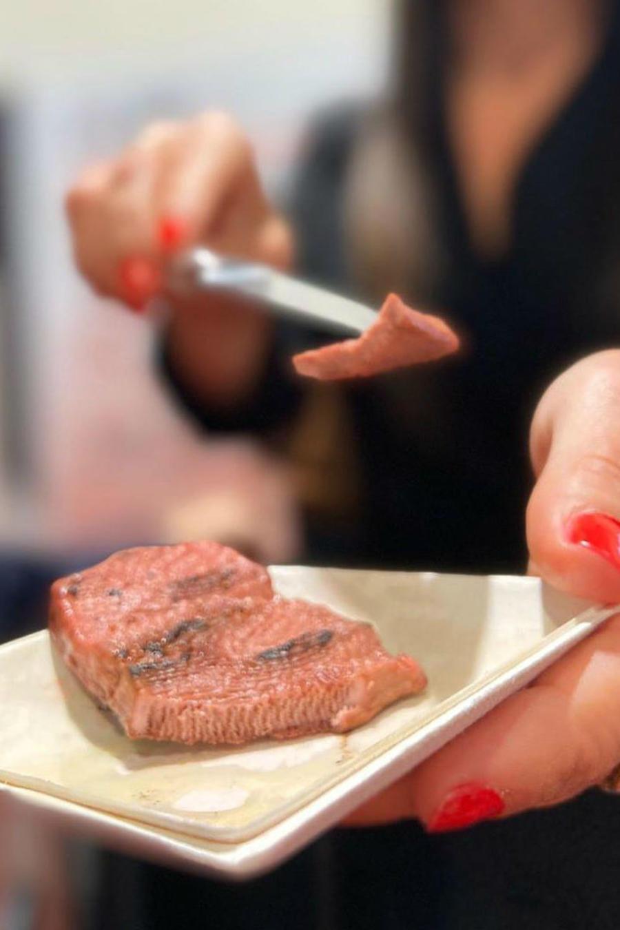 Carne hecha en impresora 3D