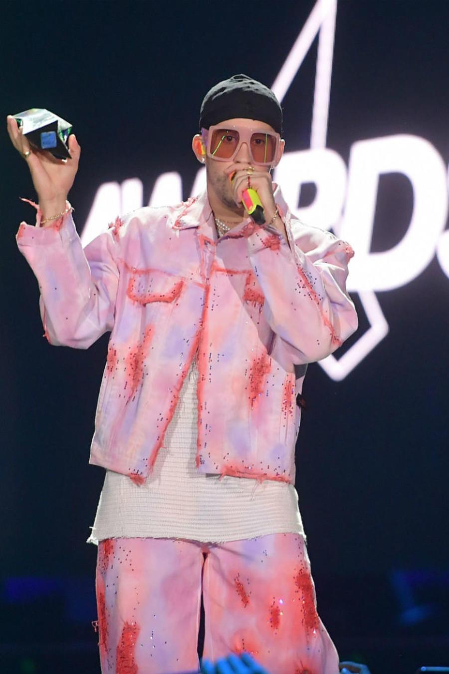Bad Bunny en los Spotify Awards 2020